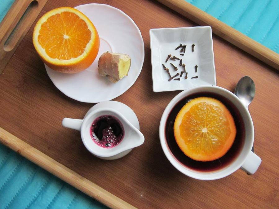 Jak polubić listopad-herbatka pomarańczowa