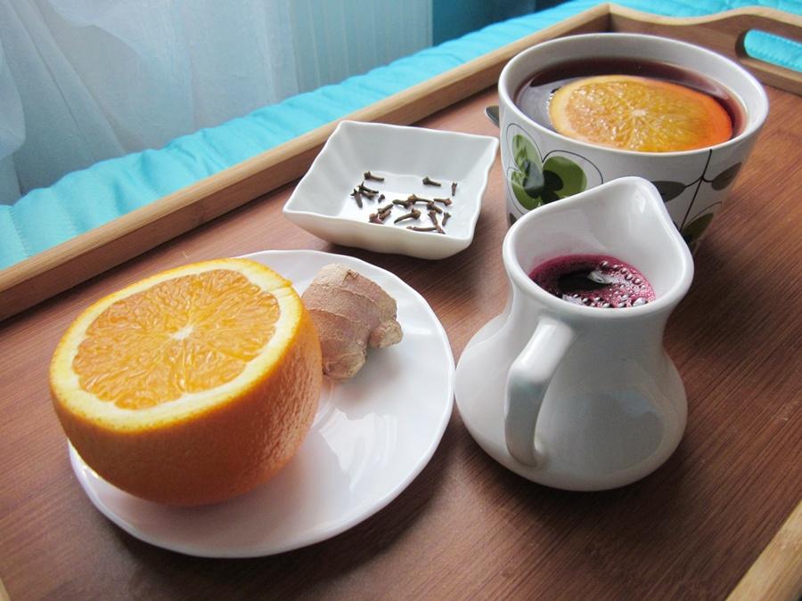 herbatka pomarańczowa