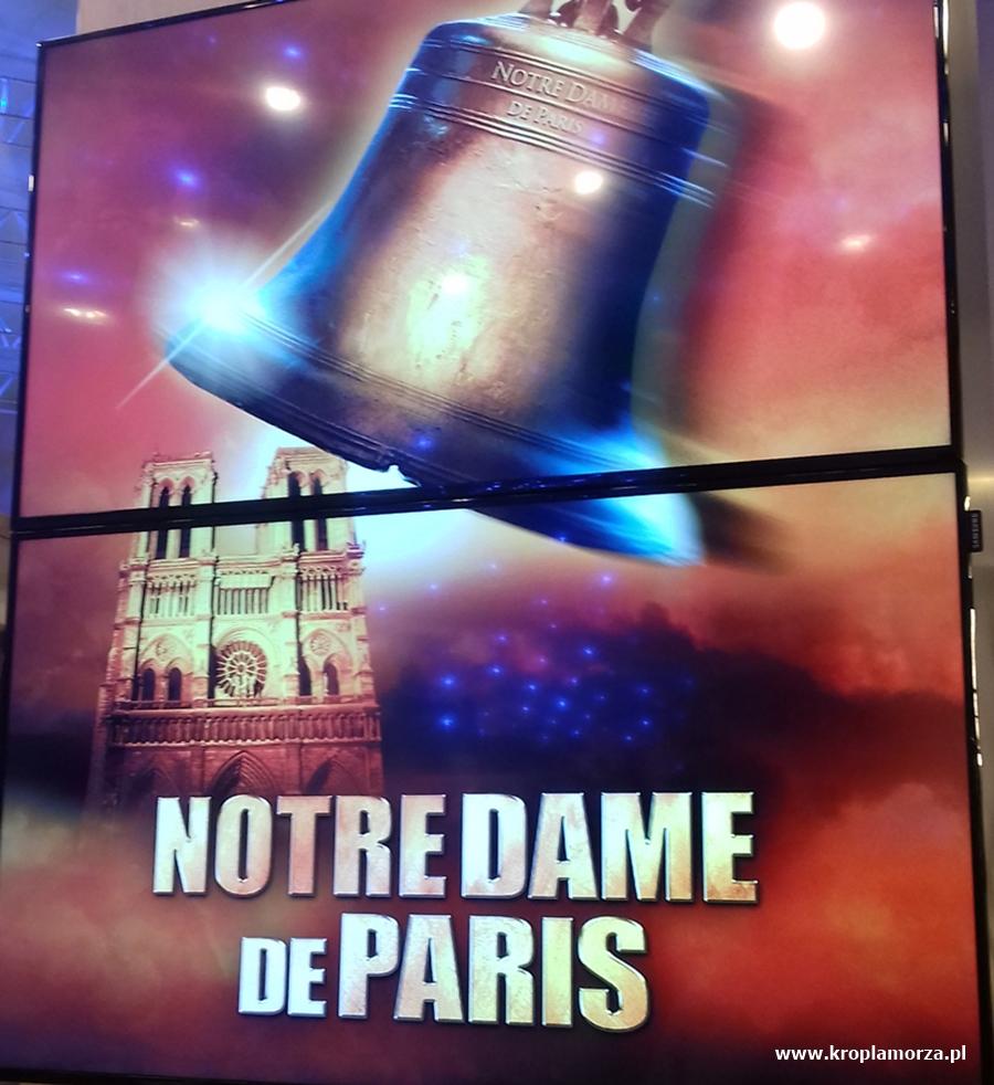 musical Notre Dame de Paris - Teatr Muzyczny w Gdyni - kropla morza