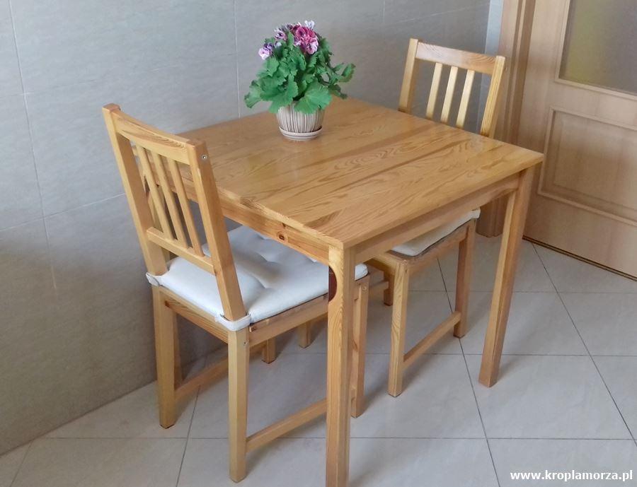Metamorfoza stołu ikrzeseł