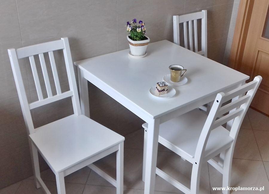 Metamorfoza stolika ikrzeseł