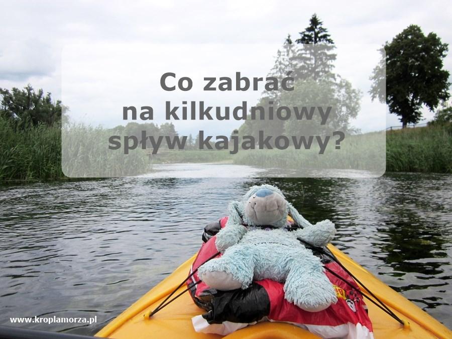 Jak spakować się na spływ kajakowy