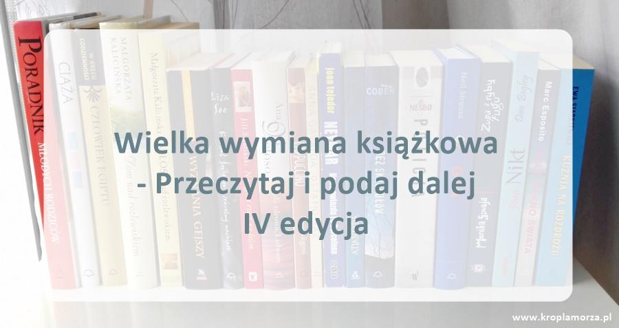 wilka wymiana książkowa - IV edycja