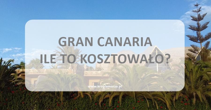 Gran Canaria koszty
