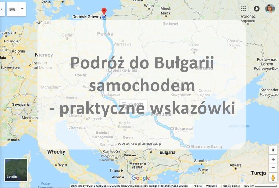 Podróż do Bułgarii samochodem