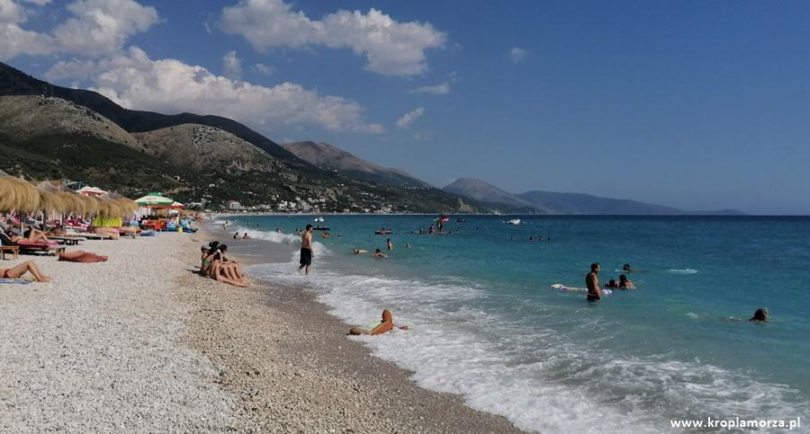 wakacje walbanii plaża