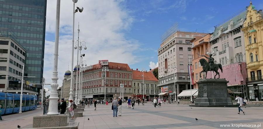 Plac bana Josipa Jelacicia Chorwacja