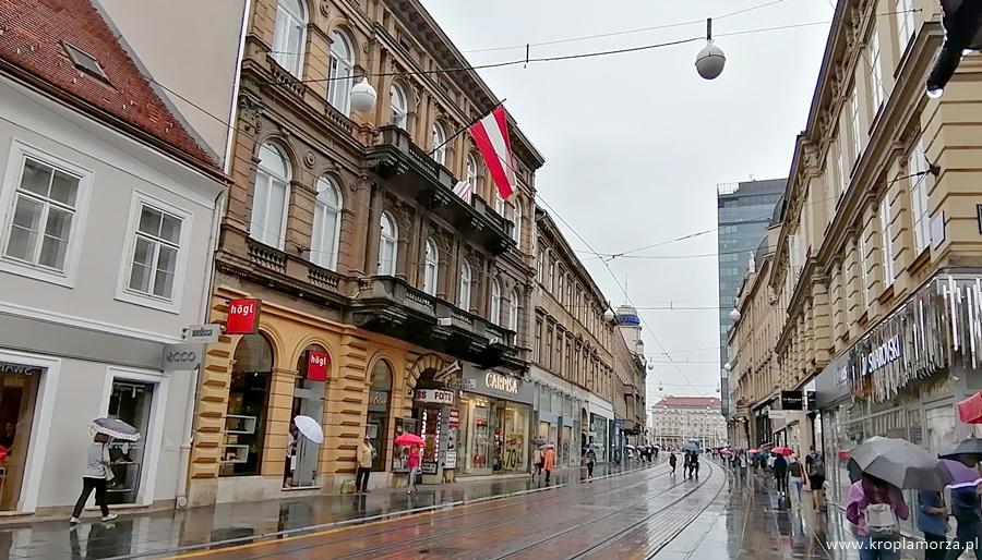 Zagrzeb ulica Ilica