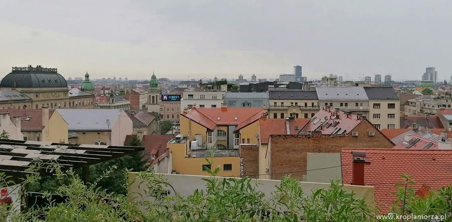 panorama zagrzeb