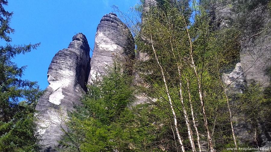 skały wczechach