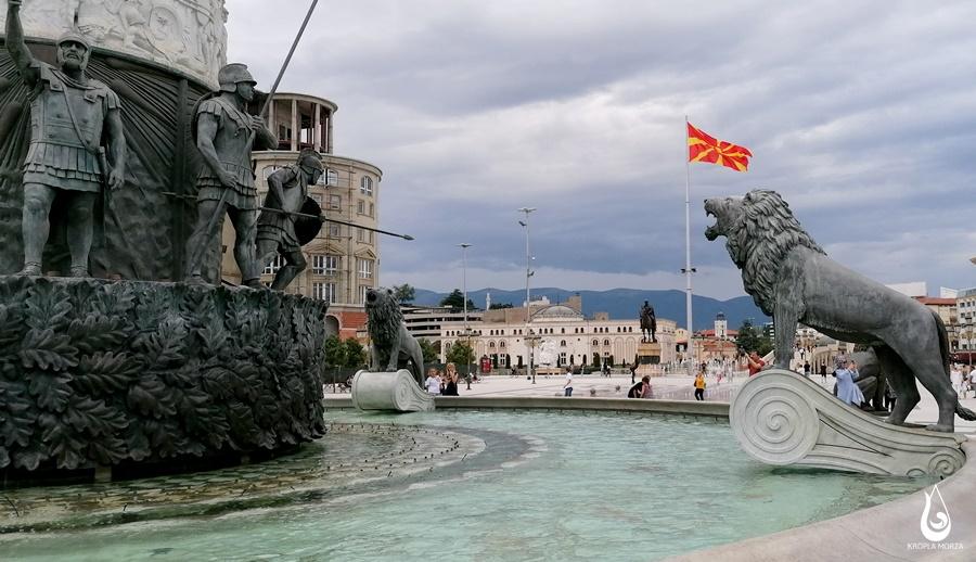 zwiedzamy Skopje