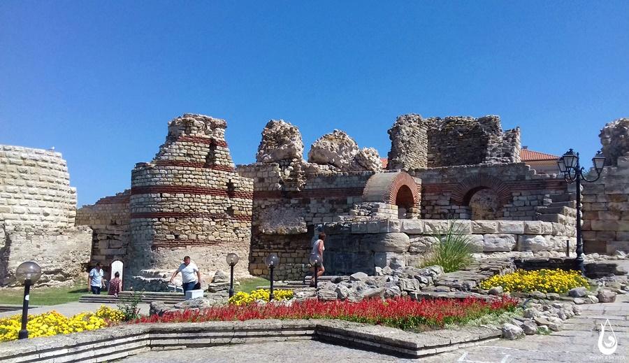 Nessebar - mury miejskie