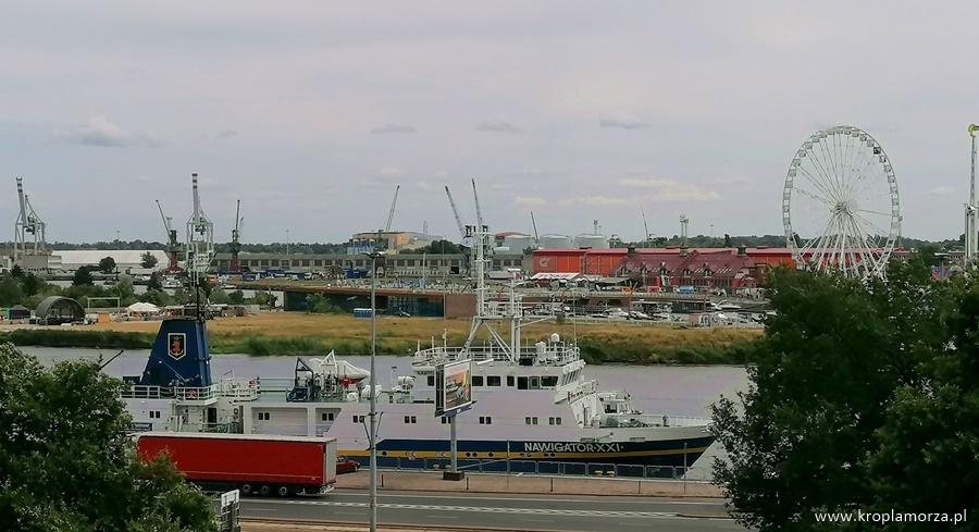 statek Nawigator XXI szczecin