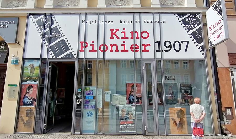 Kino Pionier atrakcje Szczecin