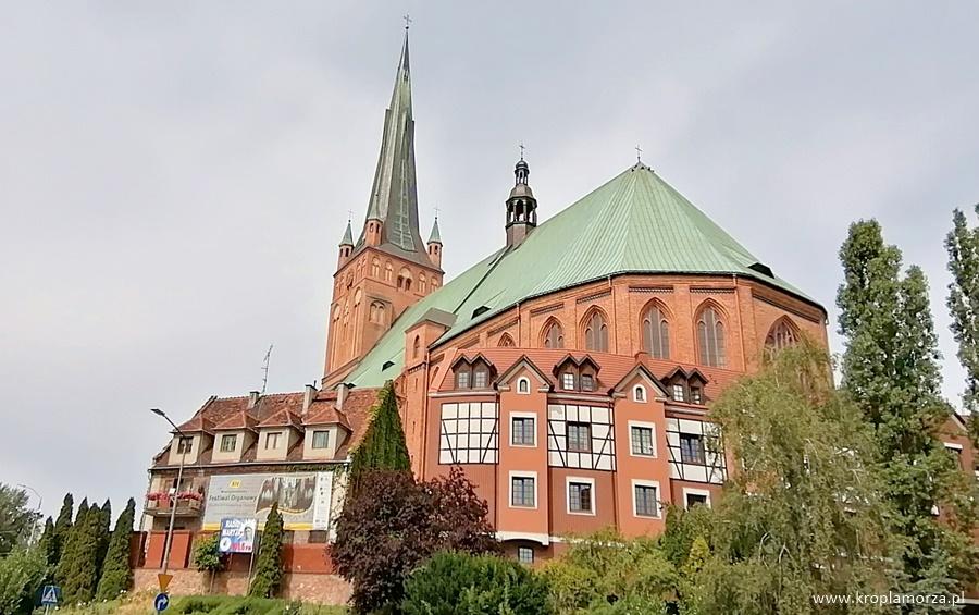 Szczecin naweekend bazylika archikatedralna